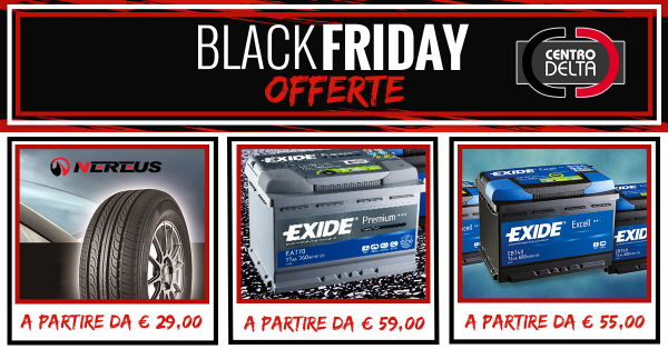 Black Friday: fantastiche offerte!
